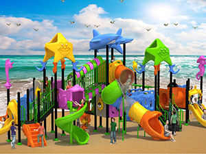 Ocean plastic Outdoor Playground Equipment
